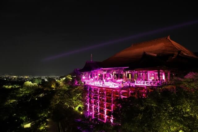 BREST CANCER AWARENESS CAMPAIGN 2013 KIYOMIZUDERA LIGHTUP<br />2013.10.01<br />DIRECTION / PRODUCTION / DESIGN