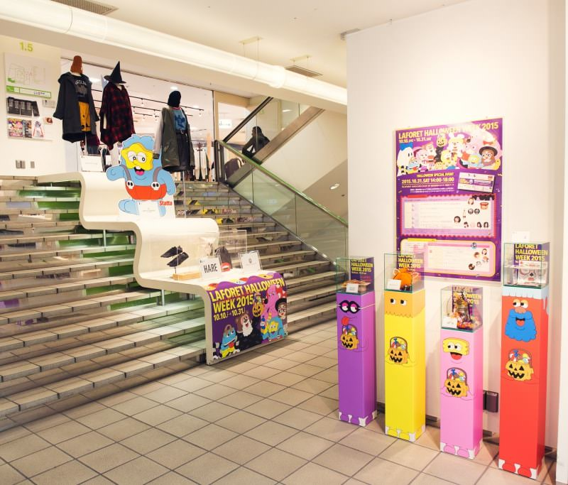 LAFORET HARAJUKU EVENT & DISPLAY<br />2008 > NOW<br />DIRECTION / PRODUCTION
