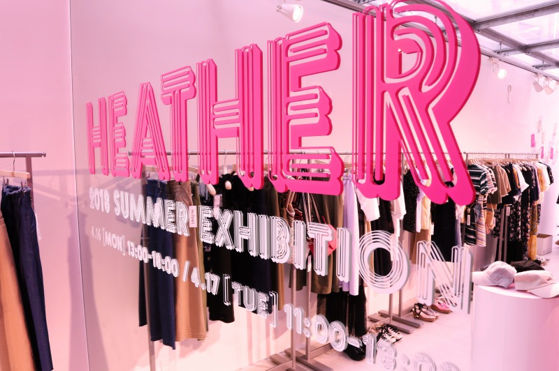 HEATHER 2018 SUMMER EXHIBITION<br />2018.04.16 -  4.17<br />DIRECTION / PRODUCTION / DESIGN