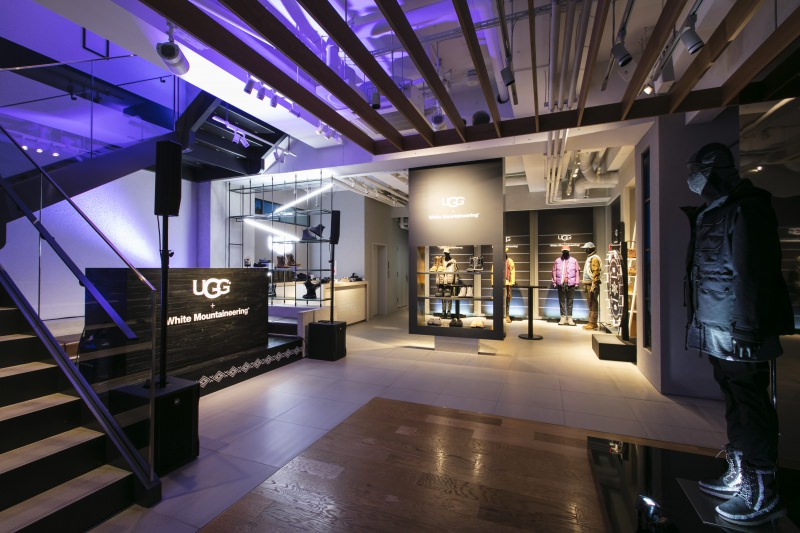UGG + White Mountaineering Launch Party<br />2018.10.19.<br />DIRECTION / PRODUCTION / DESIGN