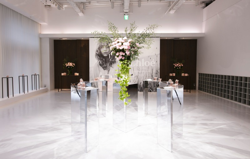 Chloé  L'EAU Launch Event<br />2019.09.13<br />DIRECTION / PRODUCTION / DESIGN