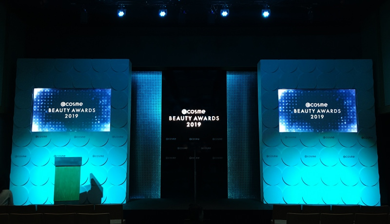 @cosme BEAUTY AWARDS 2019<br />2019.12.03<br />DIRECTION / PRODUCTION / DESIGN